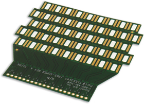 Two Layer Flex with Flexible Solder Mask